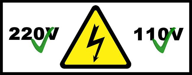 会易亚克力折弯机的两种规格-110伏特和220伏特